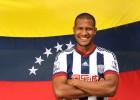 Rondón, presentado como jugador del West Bromwich