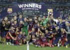 Barcelona-Sevilla en imágenes