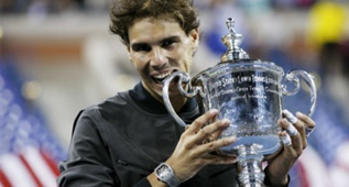 ¡El triunfo de Rafa Nadal en el US Open a cuota 26.00!