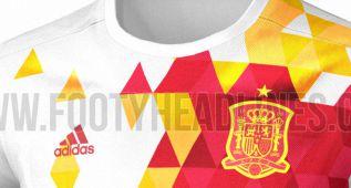 Así podría ser la 2ª camiseta de España en la Eurocopa 2016