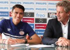 Héctor Moreno, oficialmente traspasado al PSV Eindhoven