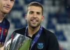 Jordi Alba y Adriano siguen siendo duda para San Mamés