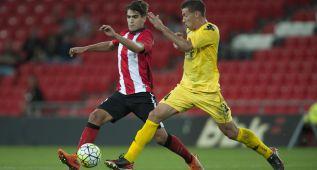 Un gol en fuera de juego da la victoria al Girona en San Mamés