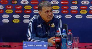 "Martino: ""Correa es el mejor jugador joven de Argentina"""