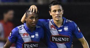 Bolaños vs Mirabaje: duelo de cañoneros en la Sudamericana
