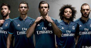 Esta es la camiseta del Real Madrid para la Champions