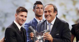 Messi, abrumador con 49 votos; Suárez tuvo 3 y Cristiano sólo 2