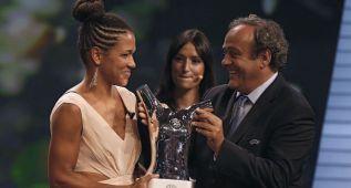 La alemana Celia Sasic, elegida mejor jugadora de la UEFA