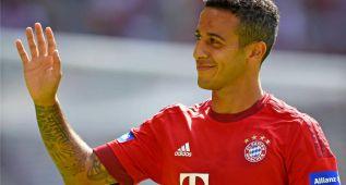 Thiago renueva su contrato con el Bayern de Múnich hasta 2019