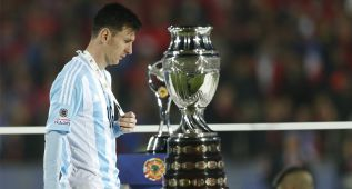 """Messi: """"Nunca dije que no iba a jugar más con Argentina"""""""