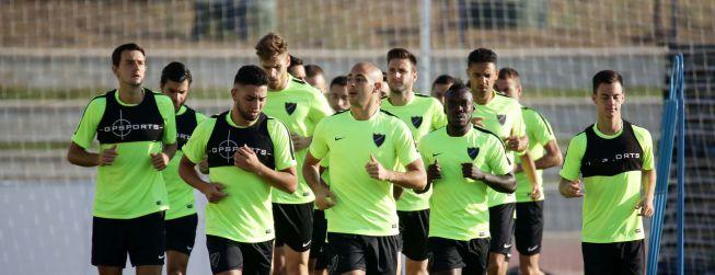 Los vampiros se cuelan en el entrenamiento del Málaga