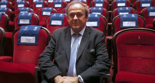 """Platini: """"¿Villar presidente de la UEFA? No lo aventuro"""""""