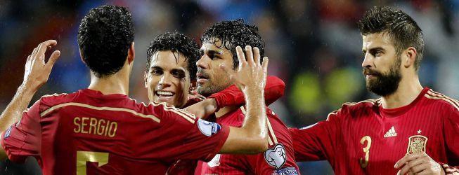 Diego Costa y Mata, en la lista de Del Bosque; Morata, fuera