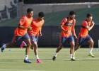 Aderllan Santos ya se entrena en Valencia a las órdenes de Nuno