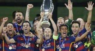 El Barça ofrecerá a su afición la Supercopa de Europa el sábado
