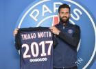 Thiago Motta renueva con el PSG hasta el año 2017