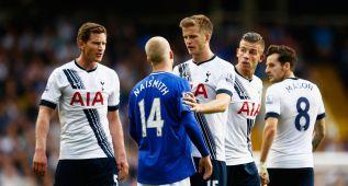 El Everton se lleva un punto ante un Tottenham sin fortuna