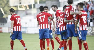 Molinero regala el triunfo al Lugo con un golazo en el 93'