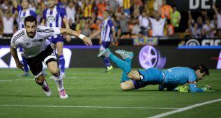 El Deportivo rasca un punto en Mestalla