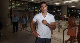 Santa Cruz llegó a Málaga y mañana pasa pruebas médicas