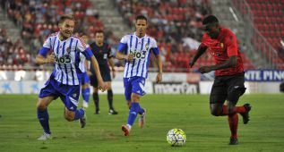 Un penalti dudoso condena a la Ponferradina en Mallorca