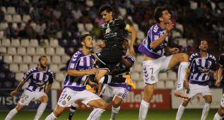 Los goles Villar y Óscar derrotan al Alcorcón en Pucela