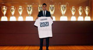 Oficial: Casemiro amplía su contrato hasta junio de 2021