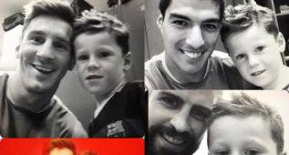 El hijo de Rooney conoció a sus ídolos del Barcelona