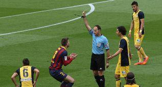 Mateu, posible colegiado del Atlético-Barcelona del 12-S