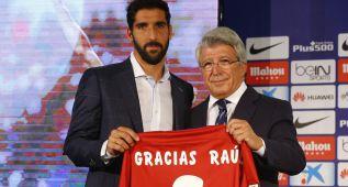 """Raúl García se despidió del Atlético: """"Me voy orgulloso"""""""
