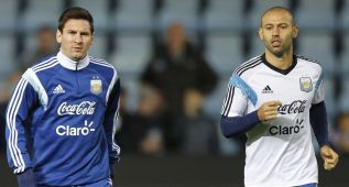 "Mascherano: ""No soportaría ser Messi; él no se esconde"""