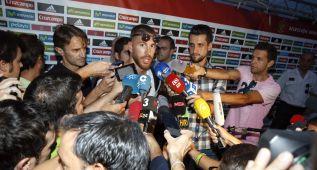 """Ramos a De Gea: """"Nadie se muere por nada, la vida sigue"""""""