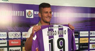 """Diego Rubio: """"Soy un '9' de área y me gusta hacer goles"""""""