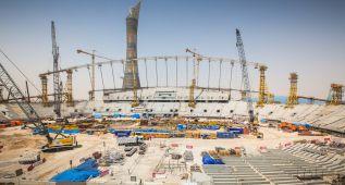 Qatar tendrá listo su primer estadio a seis años del Mundial
