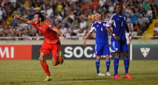 Bale, otra vez estrella en Gales: su gol casi vale la clasificación