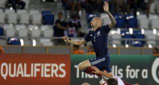 Escocia pierde en Georgia y Gibraltar recibe otra goleada