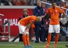 Robben, cuatro semanas de baja por una lesión muscular