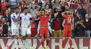 Gales y Bale se quedan a un gol del pase matemático a la Euro