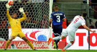 Lewandowski, hombre-gol de Europa: dos más ante Gibraltar