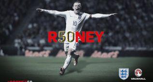 Rooney hace su gol 50 con Inglaterra y supera a Charlton