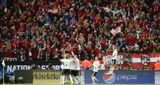 Austria se mete en la Eurocopa con una lección en Estocolmo