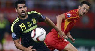 Diego Costa vio amarilla y no jugará ante Luxemburgo