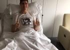 Courtois, cuatro meses de baja por una lesión de rodilla