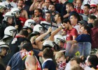 Enfrentamiento entre policía e hinchas del Bayern con heridos