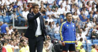 Javi Gracia: 'Tenemos que hacer bueno el punto del Bernabéu'