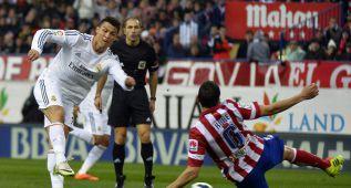 Cristiano ha marcado 15 goles en 22 derbis contra el Atlético