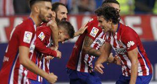 Atlético-Real Madrid en imágenes
