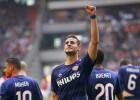El doblete de Pereiro da el triunfo al PSV en Amsterdam