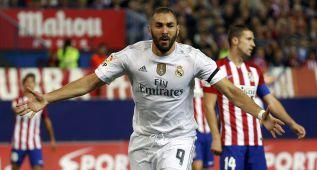 Benzema se coloca pichichi de la Liga con 6 goles en 6 partidos