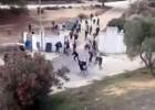 21 identificados por la pelea entre hinchas del Cádiz y Xerez